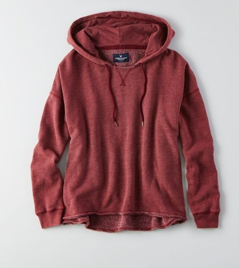 Warm up in a classic pop over hoodie for women from American Eagle  Outfitters.
