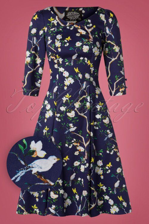 1bc1a4729053 Hearts and Roses Purple Floral Swing Dress 102 69 26957 20181001 0006W1