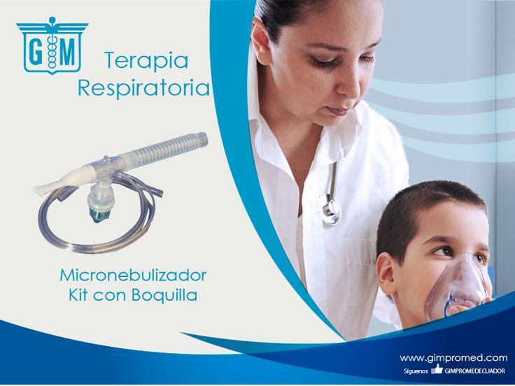 Gimpromed - Catálogo Terapia Respiratoria - Terapia Aerosol Producto: Micronebulizador Kit con Boquilla