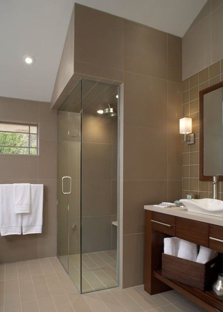 Modern and Traditional #Bathroom Design  - www.remodelworks.com