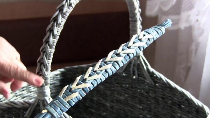Плетём крепкую ручку вместе с Натальей Сорокиной. Часть 18. В этом видео мастер…