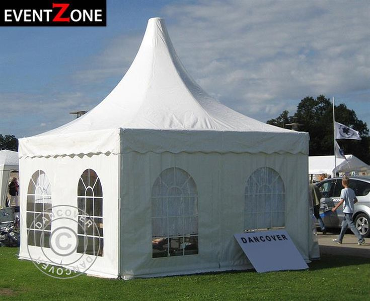 PAGODA TENT PRO + 6X6 M. EVENTZONE Professional rental quality marquee.