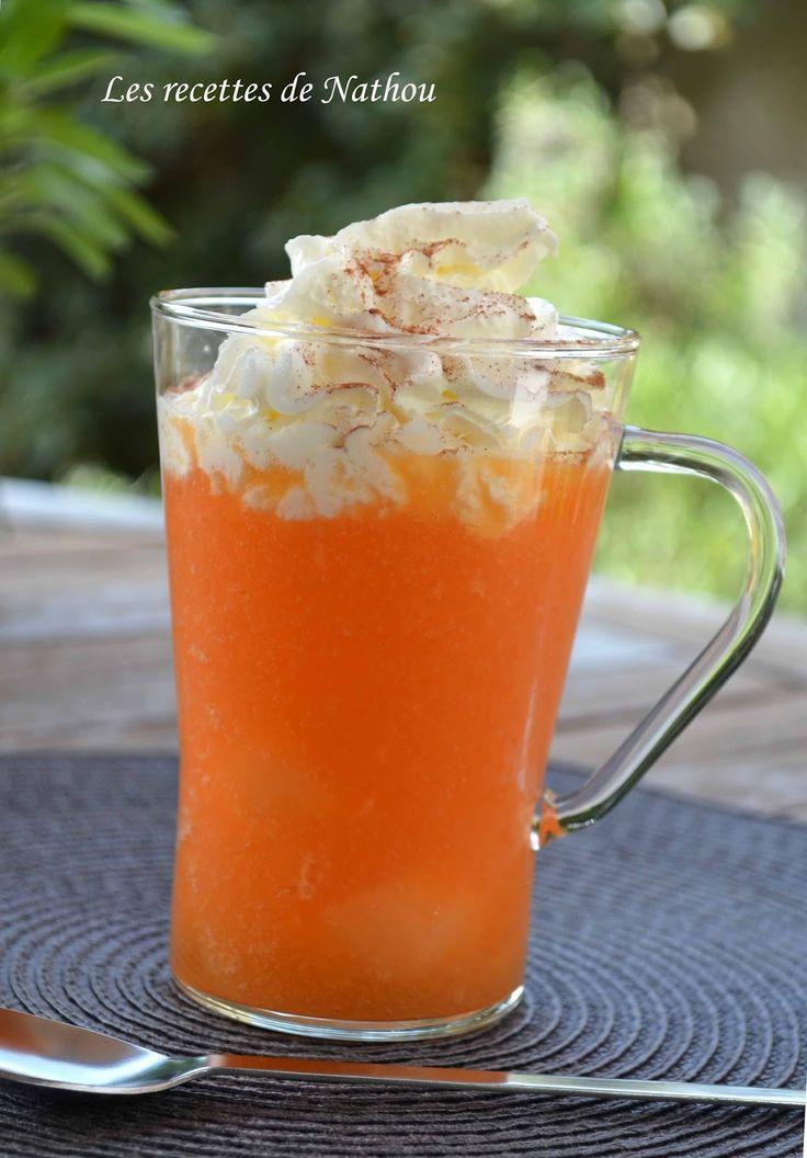 Les recettes de Nathou: Cappuccino glacé au melon