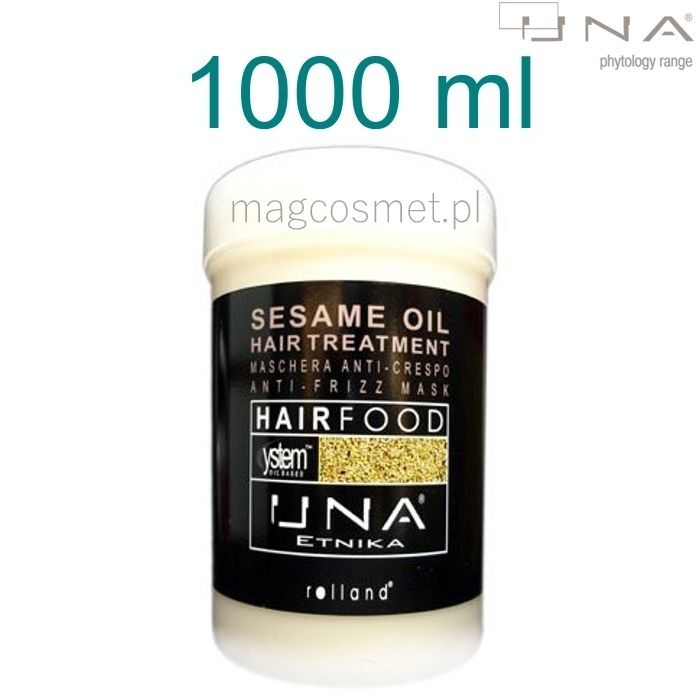 Una Sesame Oil Hair Treatments Maska Sezamowa 1000ml - Drogeria Internetowa - Magcosmet