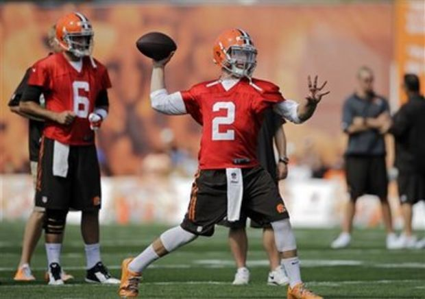 Johnny Manziel struggles, makes obscene gesture to sideline in Cleveland Browns preseason loss' | NOLA.com