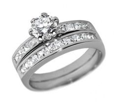 Nádherný dvojitý stříbrný prsten se zirkony Swarovski - jednotlivé kroužky lze nosit odděleně!