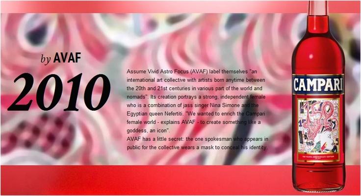#Campari Limited Edition 2010 designed by #AVAF.