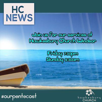 This week at Hawkesbury Church