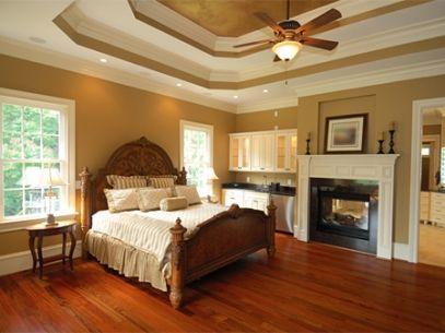 Dormitorios con pisos de madera