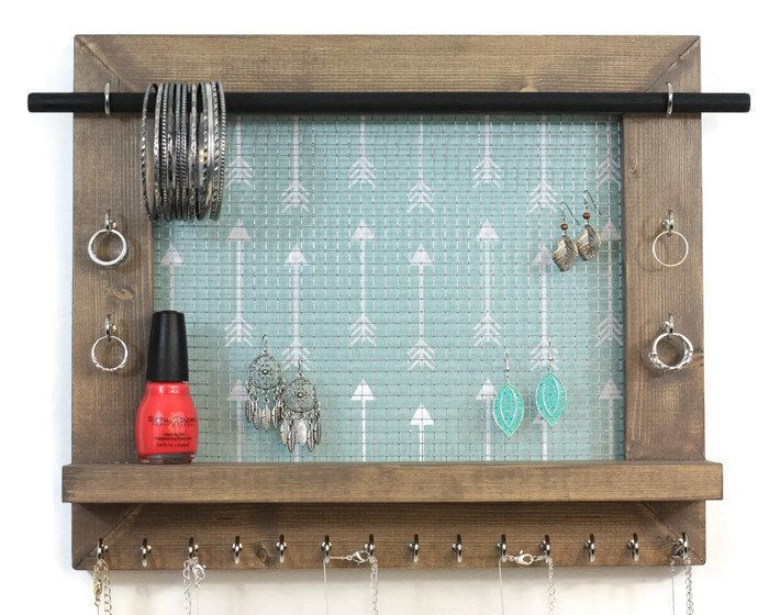 Wall Hanging Jewelry Organizer pinterest'teki 25'den fazla en iyi hanging jewelry organizer fikri