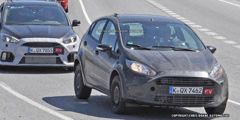 Well,this may be the 2017 #Ford Fiesta #RS prototype