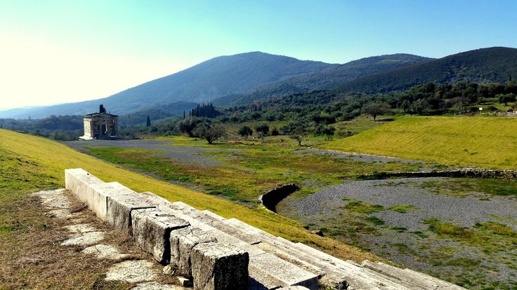 Ancient Messene - the Asklipeion next to the stadium #ancientmessne #peloponnese #ancent #messene #greece #history #culture