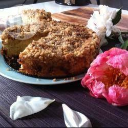 Rezeptbild: Rhabarberkuchen mit Streusel
