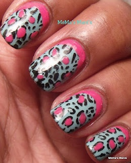 love the pink accent