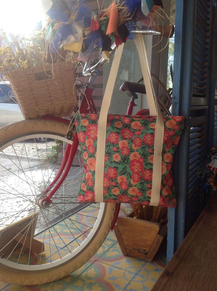 Bolsa Flowers #bag