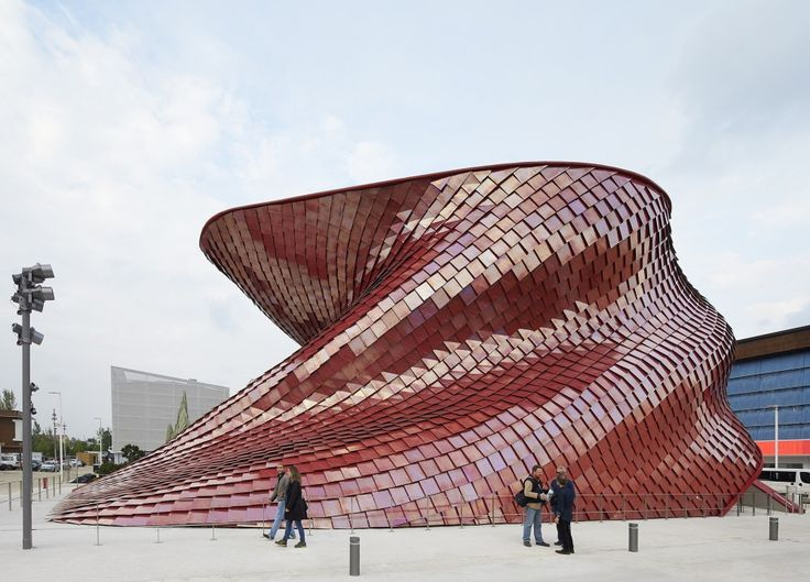 Vanke Pavilion – Milan Expo 2015 / Daniel Libeskind