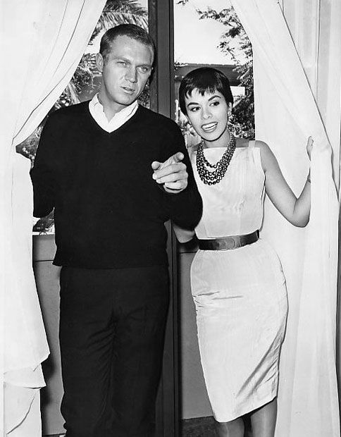 Steve McQueen and his wife, Neile.