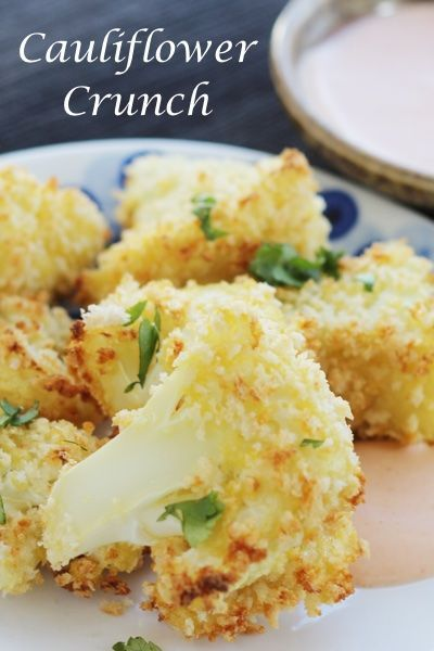 Weight Watchers SmartPoints=2: Cauliflower Crunch Bites: An Appetizer For Life