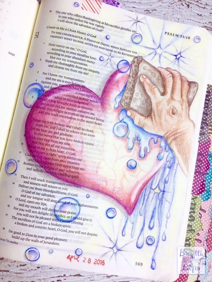 """Create in Me a Clean Heart"" I've been noticing that the times that I feel distant from God or don't sense His presence are the times that I forget to bring my heart before the Lord. It's not intentional, it's just a numbness that sets in that dulls the sensitivity to the Holy Spirit."