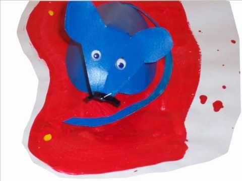 Trois souris peintres - YouTube