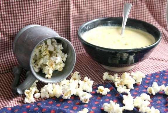 Cheddar Popcorn Soup