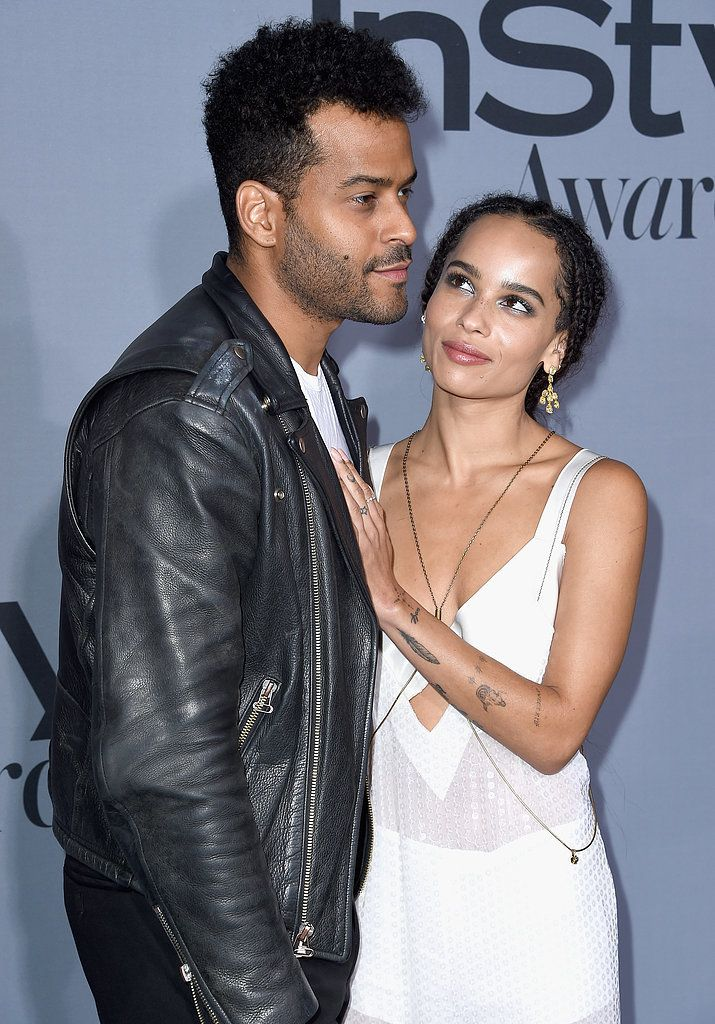 Zoë Kravitz was joined by her boyfriend, musician Twin Shadow at the InStyle Awards