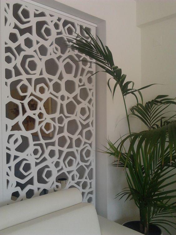 e053 cloison porte en panneau moucharabieh ajour. Black Bedroom Furniture Sets. Home Design Ideas