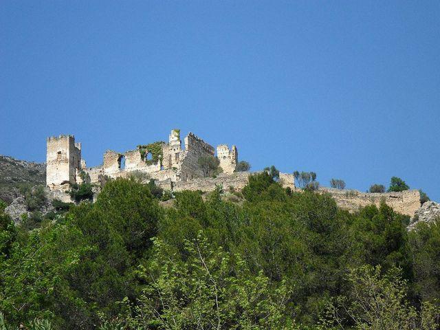 Castillo de Perputxent. L'Orxa. 13/04/2013.