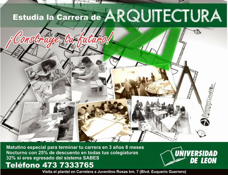 Carrera de Arquitectura Universidad de León