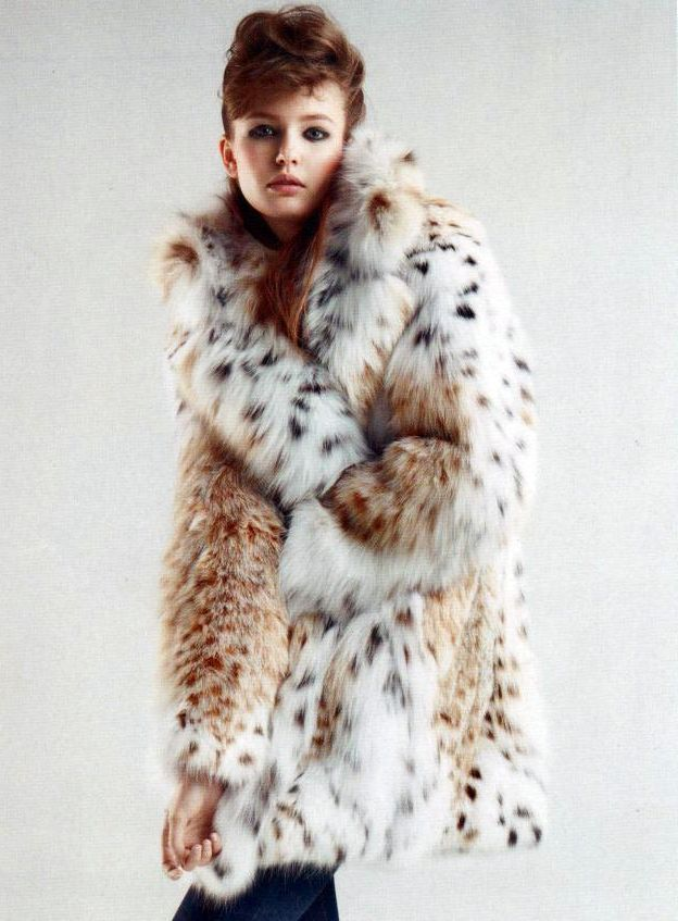 Fur Lover | Furs Lynx/Leopard | Fur, Fur coat fashion y ...
