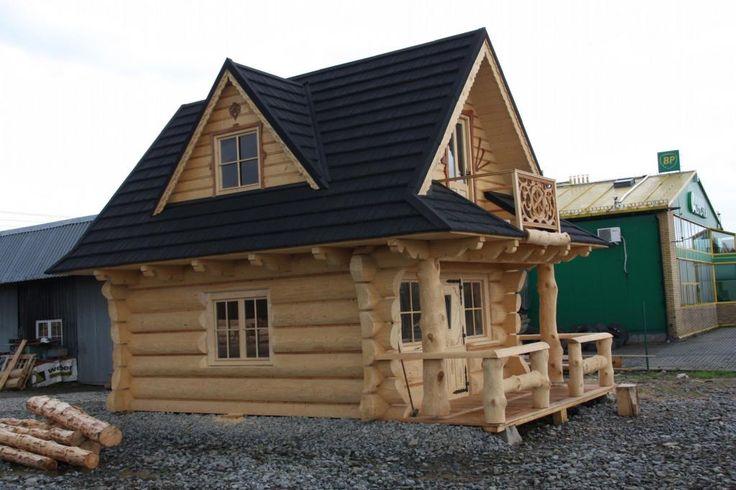 Góralski dom z bali drewna do przeniesienia. (5094560615) - Allegro.pl - Więcej niż aukcje.