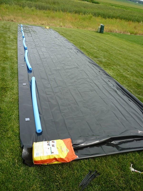 Adult slip n slide - gotta make for the lake next year.....