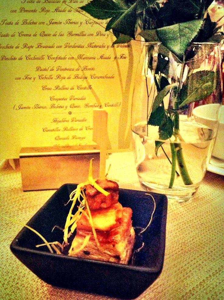 #Catering El Jardín, del Balneario de Puente Viesgo. Sorprendentes delicias...  #DisfrutaCantabria