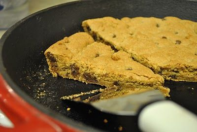 Giant Skillet Whole Wheat Chocolate Chip Cookie | Recipe