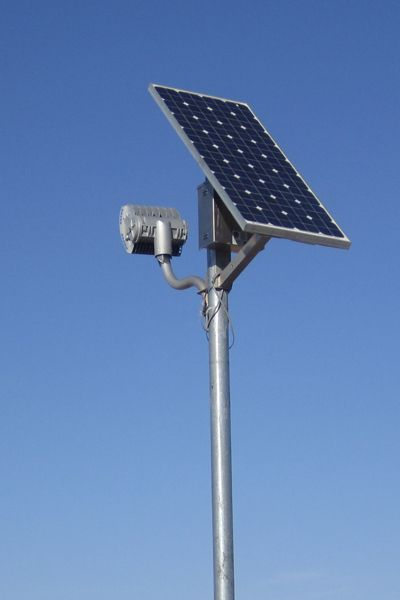 benefits of solar powered security lights