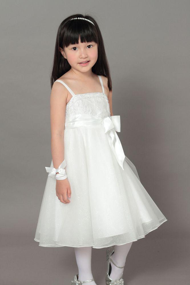 Glitter Friends White Crystal dress