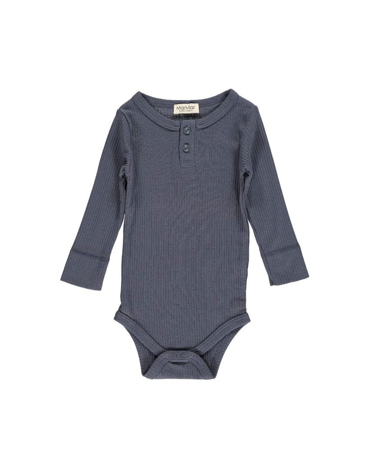 Body LS Modal - Ombre Blue - Bodyer - Basis