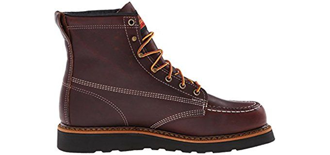 Wedge Sole Work Boots - http://comfortableworkboots.com/wedge-sole-work-boots/