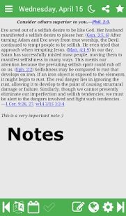 Daily Text 2017- miniatura screenshot