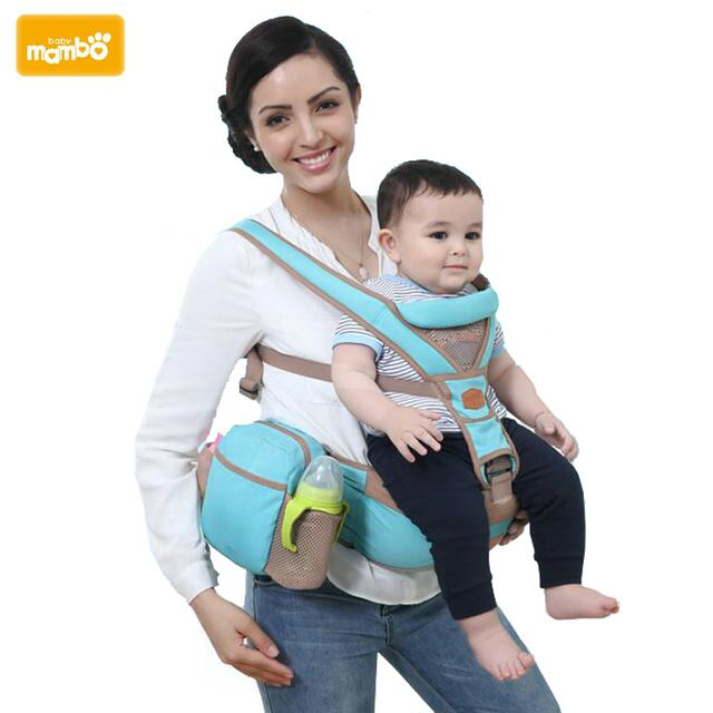 Mambobaby brand 3-30 Months Baby Carrier Sling Hipseat Wrap Backpack Breathable Infant 4 Positions on AliExpress