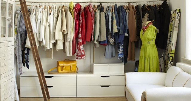 color-coded: Closet Spaces, Wooden Ladder, Dreams Closet, Clothing Storage, Clothing Railings, Small Spaces, Dresses Rooms, Closet Ideas, Floors Drawers