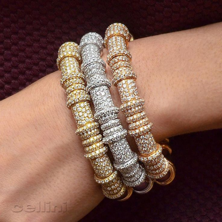 gurhan silver in hammered bangles normal lyst gallery gol jewelry bracelet set tricolor product metallic bangle