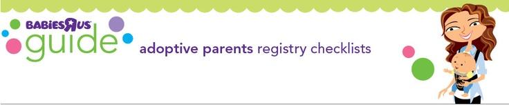 Adoptive Parent Registry Checklist