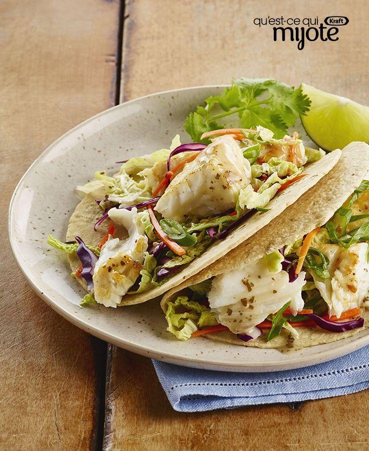 Tacos au poisson à la lime piquante #recette