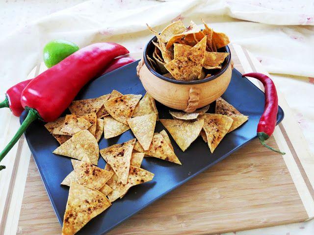 Antipastaa: Helpot tortillalastut kevyemmin (gluteeniton, vegaaninen, sokeriton, maidoton, munaton)