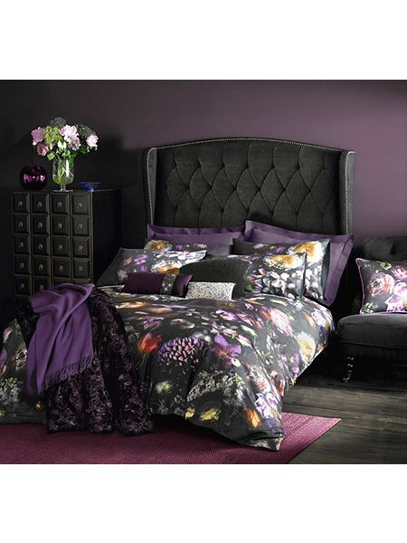 Shadow Floral Super King Duvet Cover