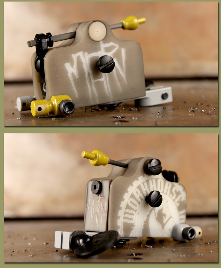 15 best workhorse rotary images on pinterest rotary for Types of tattoo machines