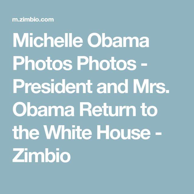 Michelle Obama Photos Photos - President and Mrs. Obama Return to the White House - Zimbio