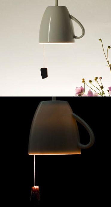 tea cup light