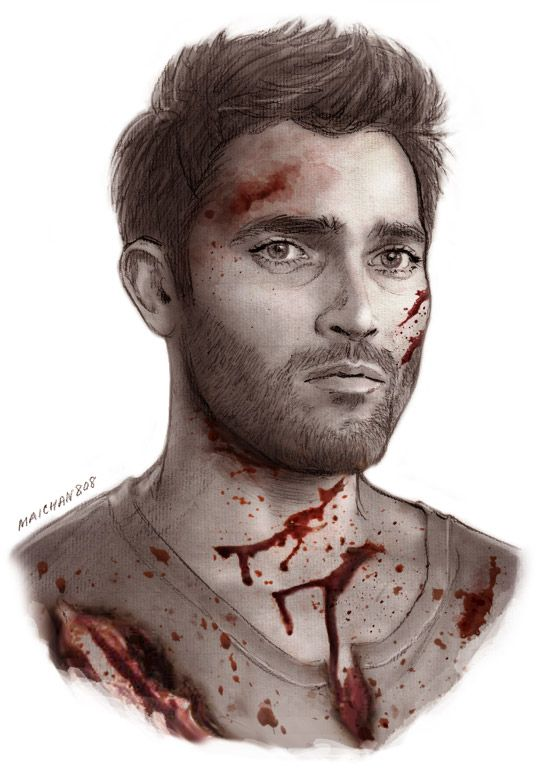 'My Bloody Valentine' print series ( x ) I ACTUALLY FINISHED THESE ON TIME! Will Graham is for Moony Dean Winchester is for Deb Derek Hale is for Steammm HAPPY VALENTINE'S DAY, BBS ♥